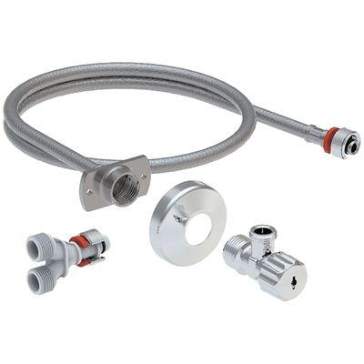 Geberit AquaClean Wasseranschluss zu Tuma WC-Aufsatz 147.035 für Unterputz-Spülkasten
