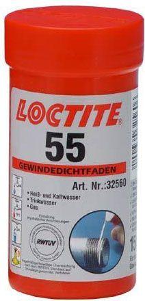 Loctite 55 Dichtband für Gewinde für Kalt und Warmwasser sanitär (Trinkwasser!)