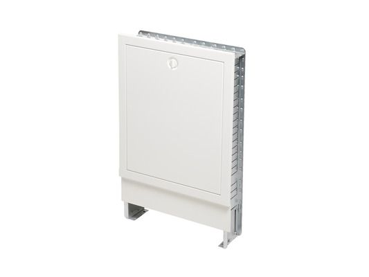 Tece Verteilerschrank Unterputz flach für bis zu 11 Heizkreise 900 mm