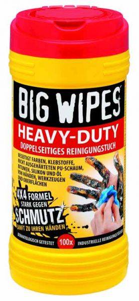 Big Wipes Heavy Duty Reinigungstücher 100 Stk Dose