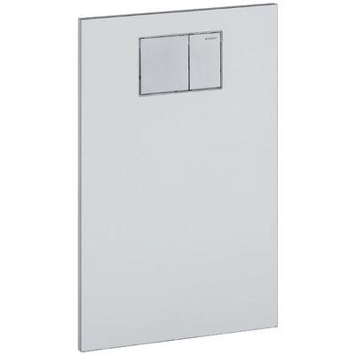 Geberit AquaClean Designplatte an Unterputzspülkasten Glas schwarz, 115.324