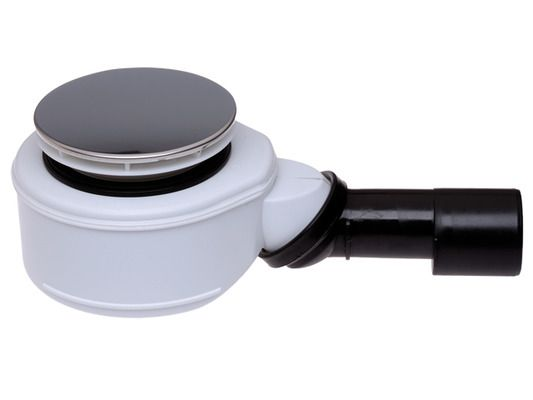 HL 520F Sifon für flache Brausetassen mit 90mm Ablaufloch