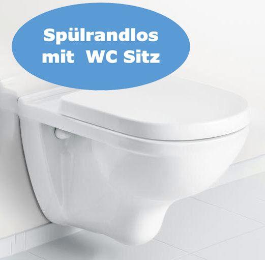 Villeroy und Boch Wand WC Set spülrandlos 5660