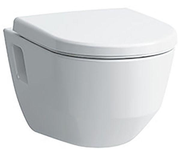 laufen 2096 4 pro wand wc set tiefsp ler sp lrandlos weiss mit wc sitz mit absenkautomatik. Black Bedroom Furniture Sets. Home Design Ideas