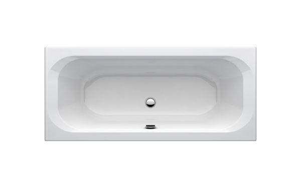 one duo badewanne 1800x80 mm wei acryl mit wannentr ger einbau badewannen badewannen. Black Bedroom Furniture Sets. Home Design Ideas