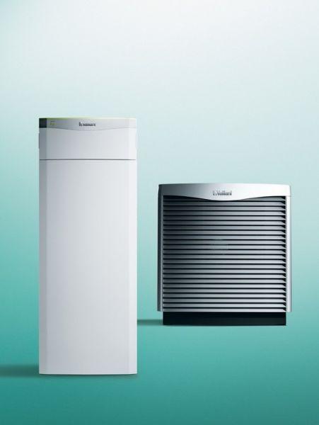 Vaillant VWF 87/4 LW m.Hydraulikmodul VWZ MPS 40 Luft/Wasser Wärmepumpenset