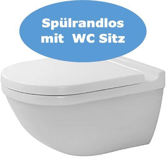 Starck3 Wand WC Set spülrandlos
