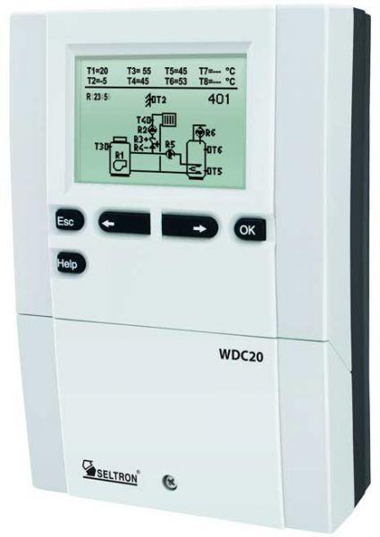 Heizungsregelung witterungsgeführt WDC20