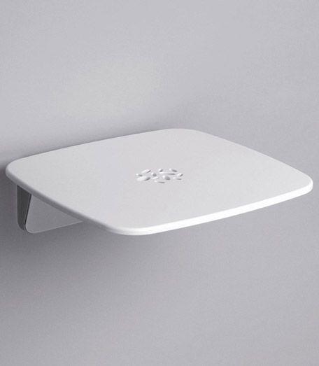 Relaxine Design Duschklappsitz chrom-weiss
