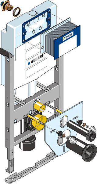 Huter 1020-G Montageelement mit Unterputzspülkasten für Leichtbau