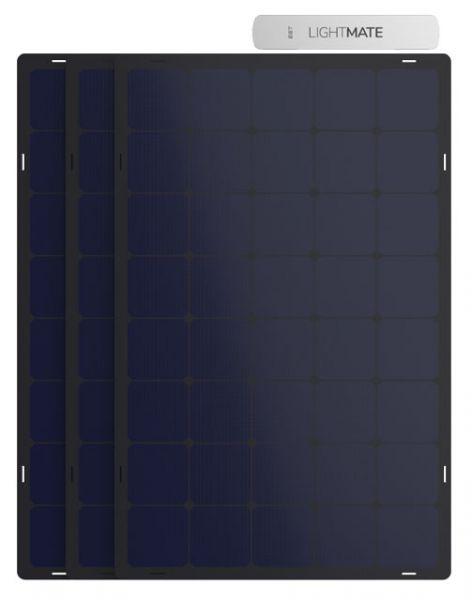 EET Lightmate B+ Speichersystem mit 3 Paneelen für Balkon