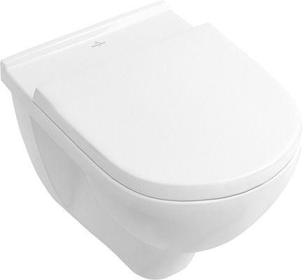 villeroy boch wand wc set mit ceramicplus mit wc sitzbrett 5660 wc sets. Black Bedroom Furniture Sets. Home Design Ideas