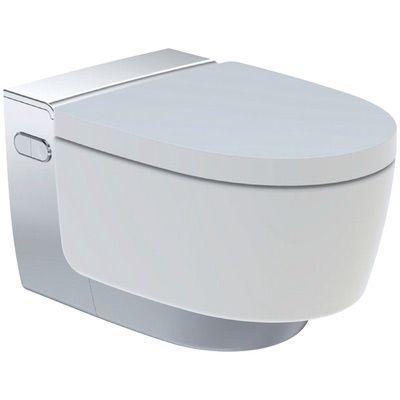 Geberit AquaClean Mera Comfort Dusch WC Komplettset chrom-Hochglanz, 146.210