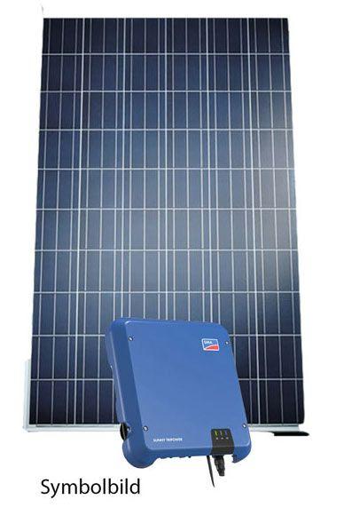 Photovoltaik Set Vaillant und SMA mit 3,1 kWp