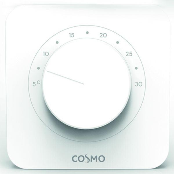 Raumthermostat elektronisch für Heizen und Kühlen 230 Volt