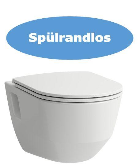 Laufen Wand WC spülrandlos 2096.4