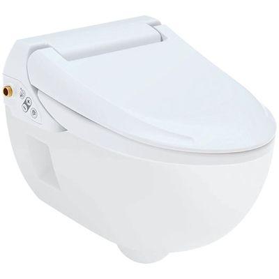 Geberit AquaClean 4000 Dusch WC Komplettset Wand-WC mit Dusch-Sitz 146.135