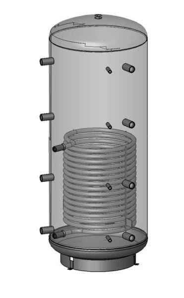 Trinnity Pufferspeicher PSR 500-1000 L mit Isolierung