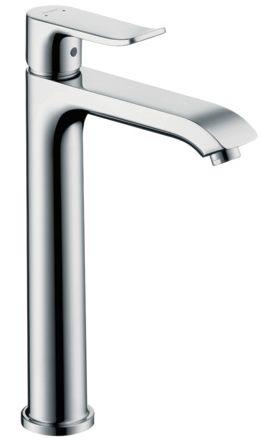 Hansgrohe Metris Waschtisch Einhandmischer 200 erhöht Standfuss 193mm, verchromt 31183