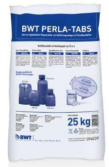 BWT Perla Tabs Regeneriersalz 25 kg für Enthärtung