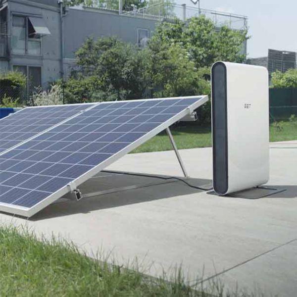 EET Solmate G Speichersystem mit 2 Paneelen