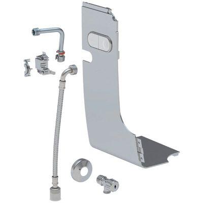 Geberit AquaClean Wasseranschlusset für Mera chrom-Hochglanz für Spülkasten ohne Leerrohr 147.033