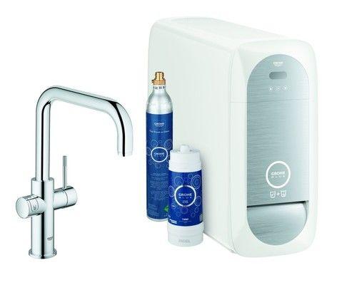 Grohe Blue Home Spültischarmatur mit Kühl-, Filter- und Sprudelfunktion 31456000