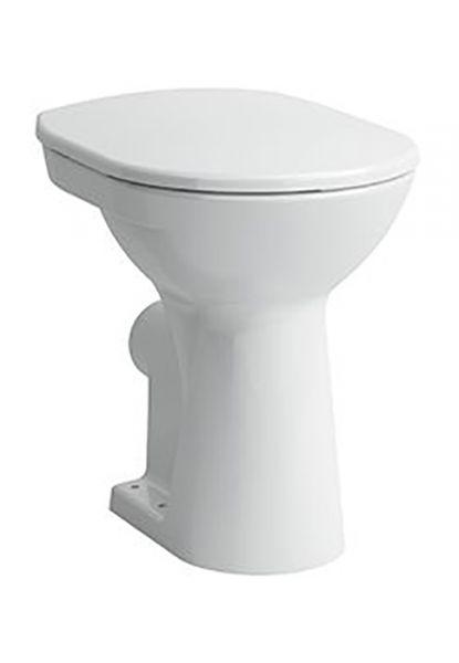 Laufen 2595.5 Stand-Tiefspül-WC PRO weiss Abgang waagrecht erhöht