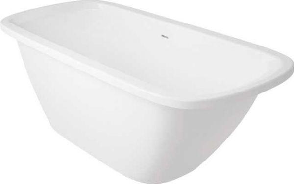 Freistehende Badewanne,freistehend, Mineralgußwanne 1700X750 mm