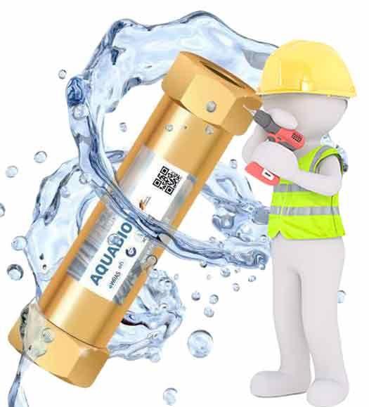 Aquabion Kalk und Korrosionsschutz DN 20 für Einfamilienwohnhaus mit Monteur